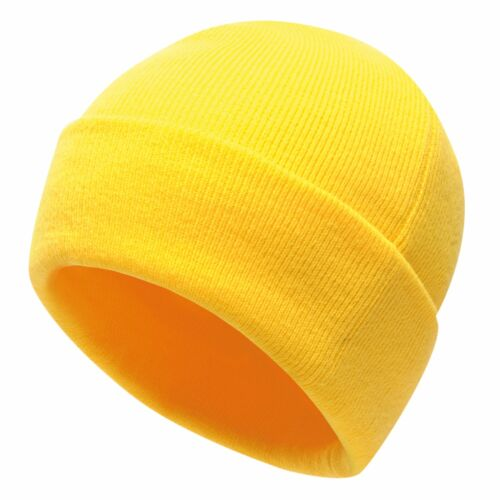 Professional Men/'s Axton Cuffed Beanie Yellow