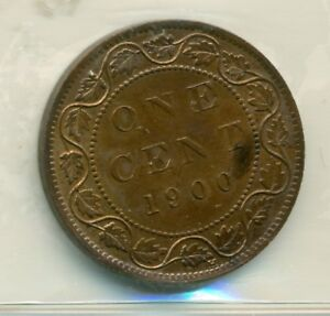 ICCS-Canada-1900H-1-cent-MS-62-Trace-Red-Lacquered-NB-004