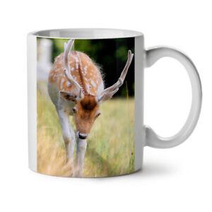 Deer Wild Cute Animal NEW White Tea Coffee Mug 11 oz   Wellcoda