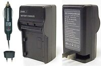Cs Power Np-fe1 Replacement Ac & Dc Battery Charger For Sony