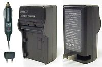 Sony Np-ft1 Np-fr1 Replacement Ac & Dc Battery Charger