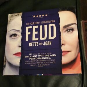 2017-FEUD-Bette-And-Joan-DVD-promo-screener-FX-rare-Emmy-FYC-3-Episode-1-DVD