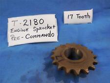 Norton T2180 NOS Engine Sprocket 17 Tooth , Pre Commando  N505
