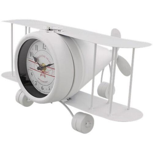 DESTOCKAGE-COULTRE avion 33x17x21cm métallurgie Design pendulette