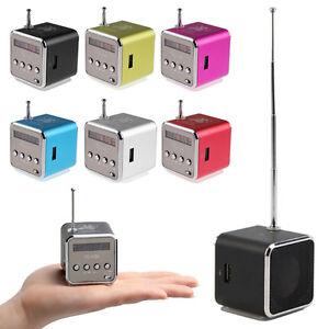 Mini-Lautsprecher-FM-Radio-USB-TF-Slot-Kartenleser-Portable-Musik-Wuerfel-MP3-4