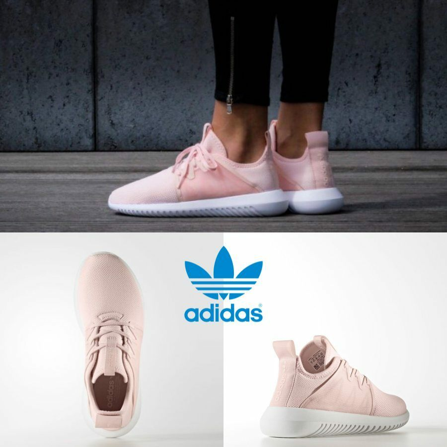 Adidas Women's Tubular Viral 2.0 Running Authentic Ice Pink BY2122 Price reduction