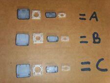 DELL ULTRABOOK XPS 12/13 - L221X L321X L322X  ANY KEY 3 DIFF CLIPS UK GER US