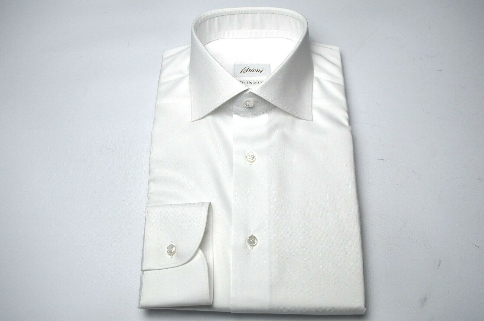26605a41 NEW BRIONI Dress SHIRT 100% Cotton Size 16 Us 41 Eu(Cod MA82 ...