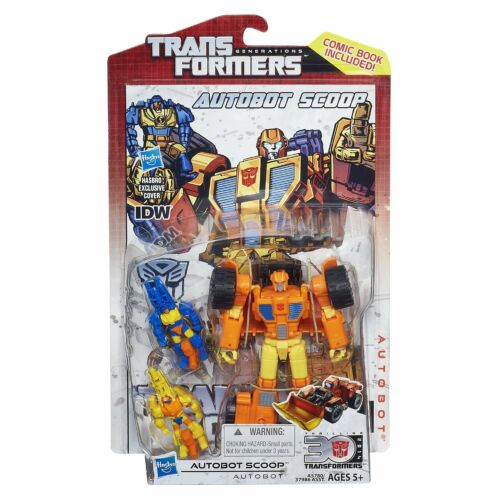 Transformers Generations IDW Deluxe Class Autobot Scoop Autobot NEW