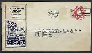Ee. Uu. 1918 California Estándar Aceite Empresa Temprano Publicidad Tapa El Late