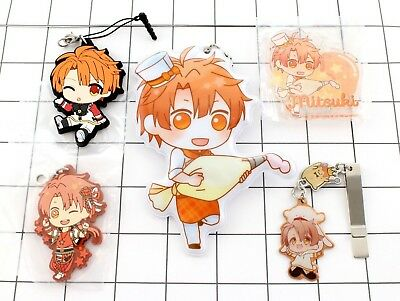 Idolish7 Tamaki Yotsuba Mezzo can badge rubber strap acrylic stand ita bag sets