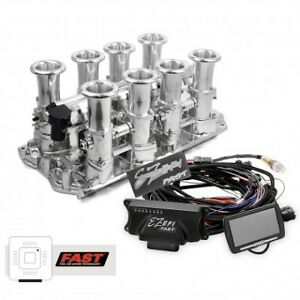 Details about 351W Ford Stack Hilborn Style EFI Fuel Injection With  ECU-Fuel Pump-Plus