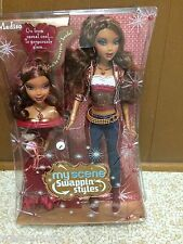 Barbie My Scene Madison Swappin Style Doll Curly Glam Head African American Rare