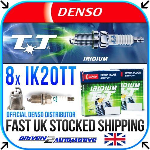 4.4 i 05.00-12.03 8x DENSO IK20TT IRIDIUM TT SPARK PLUGS FOR BMW X5 E53
