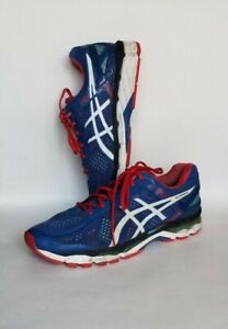 ASICS-GEL-KAYANO-22-blue-red-white-SZ-11-5-MENS-RUNNING-SHOE