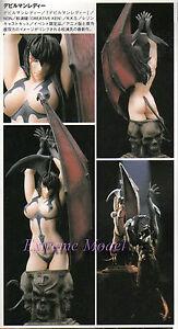 Devilman None Scale Bust Devilman lady & Base Unpainted Resin Model Kit
