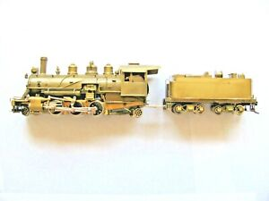 Ho Brass Steam Engine Logging Baldwin 2-6-2 Pacific Fast Mail, United, Mint in B