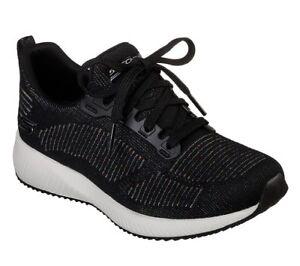 Squad Ladies 31366 Trainers Bkmt Foam Memory Bobs Skechers Jogging Black Sport wqzO6ppIE