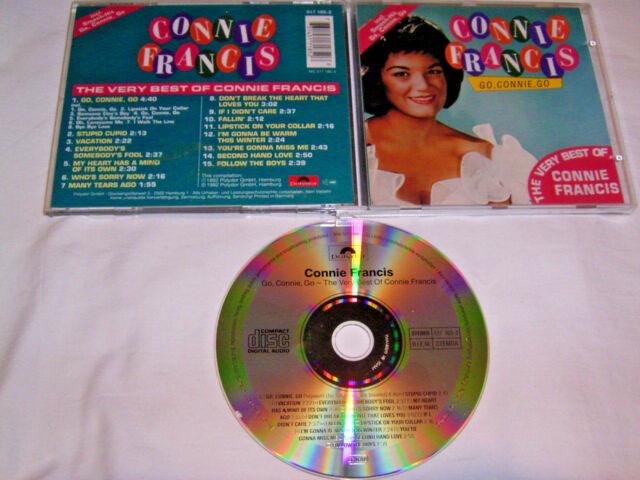 CD - Connie Francis Go Connie Go The Very Best of # R2