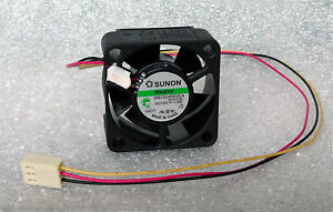 Sunon-40mm-x-20mm-High-Airflow-MagLev-Fan-3-Pin-Vapo-40x20mm-GM1204PKVX-A