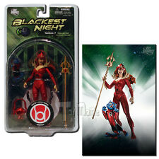 DC Direct Blackest Night Series 7 Red Lantern Mera 6-Inch Action Figure