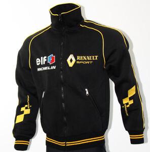 renault sport polar fleece jacket coat veste parka embroidered logos megane rs ebay. Black Bedroom Furniture Sets. Home Design Ideas