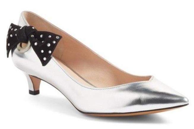 325 Dimensione 6.5 Marc Jacobs  Ally Leather Bow Low Heel Pumps donna scarpe  produttori fornitura diretta