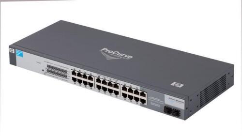 HP ProCurve 1700-24 J9080A 24 Port 100mbps Network Switch