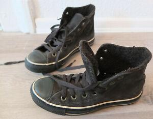 CONVERSE-ALL-STAR-Leder-Chucks-Sneaker-Gr-36-5-TOP-warm-gefuettert