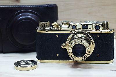 LEICA PANZERKAMPF KRIEGSMARINE  VINTAGE RUSSIAN 35mm GOLD CAMERA Excellent