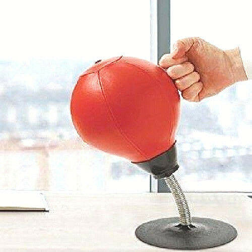 Desktop Punch Bag Punching Speed Ball Boxing Training Practise Stress Relieve