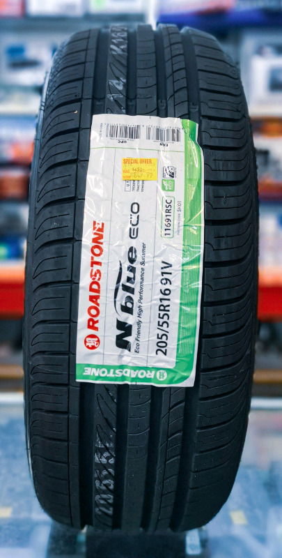 Brand new 205/55R16 ROADSTONE TYRES (2 available)
