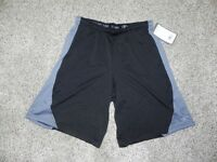 Game Time Athletic Shorts Mens Size Medium Black Gray