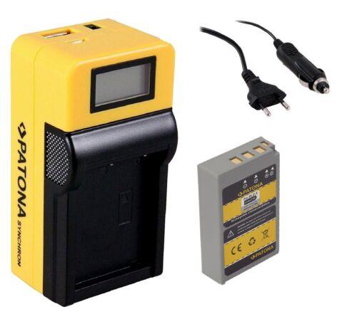 Patona BATERIA LCD cargador para Olympus OM-D e-m10 Mark II//bls-5 bls-50