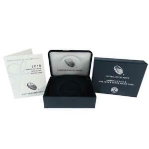 NO COINS Supplies Box Only for 2012 American Silver Proof Eagle NO CASE NO COA