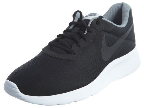 Men's Nike Tanjun Premium Black White Light Bone Sz 8-12 New In Box 876899-001