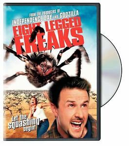 Brand-New-WS-DVD-Eight-Legged-Freaks-Widescreen-Edition-Keep-case-packaging