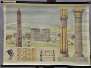 educational history teaching wall chart new laminated ANCIENT EGYPT poster