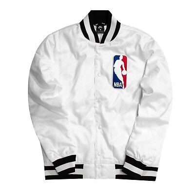 Nike SB x NBA Bomber Jacket | Mens AH3392 101 | White | eBay