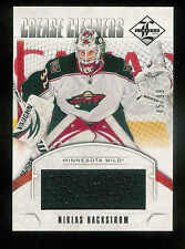 2012-13 PANINI LIMITED CREASE CLEANERS MATERIALS NIKLAS BACKSTROM JERSEY 45/99