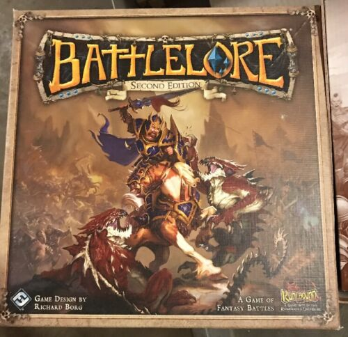 Opened Battlelore Second Edition Board Game From Runebound Contents Sealed