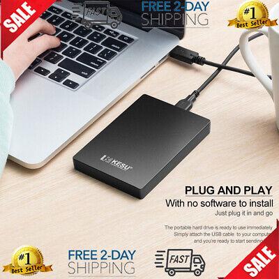 Disco Duro Externo Portatil De 120GB Para Computadora Laptop PS4 Juegos USB 3.0