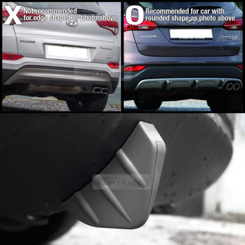 Bumper Diffuser Molding Point Cover Decorative Valence Chin Gray for JAGUAR Car