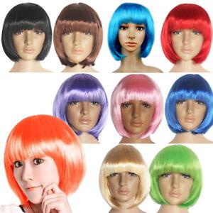 Fashion-New-Women-Lady-Short-Straight-Hair-Full-Wigs-Cosplay-Party-Bob-Hair-Wig