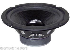 "Single 8"" inch 8 ohm Premium Home Pro Midrange Replacement Speaker Custom Box"