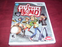 Ultimate Band Wii Factory Sealed Cl Lk