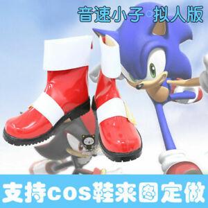 Anime Sonic The Hedgehog Cosplay Shoes Custom Made X Ebay