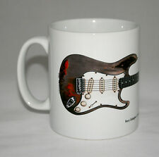 Guitar Mug. Rory Gallagher's Fender Stratocaster illustration.