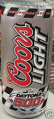 Coors Light Beer Inflatable Guitar Advertising Sign tucanes can