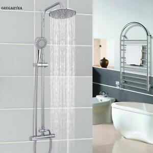 Duschgarnitur-Duschstange-Handbrause-Duscharmatur-Regendusche-Duschset